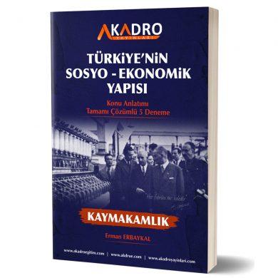 TÜRKİYE EKONOMİSİ akadroegitim yayın