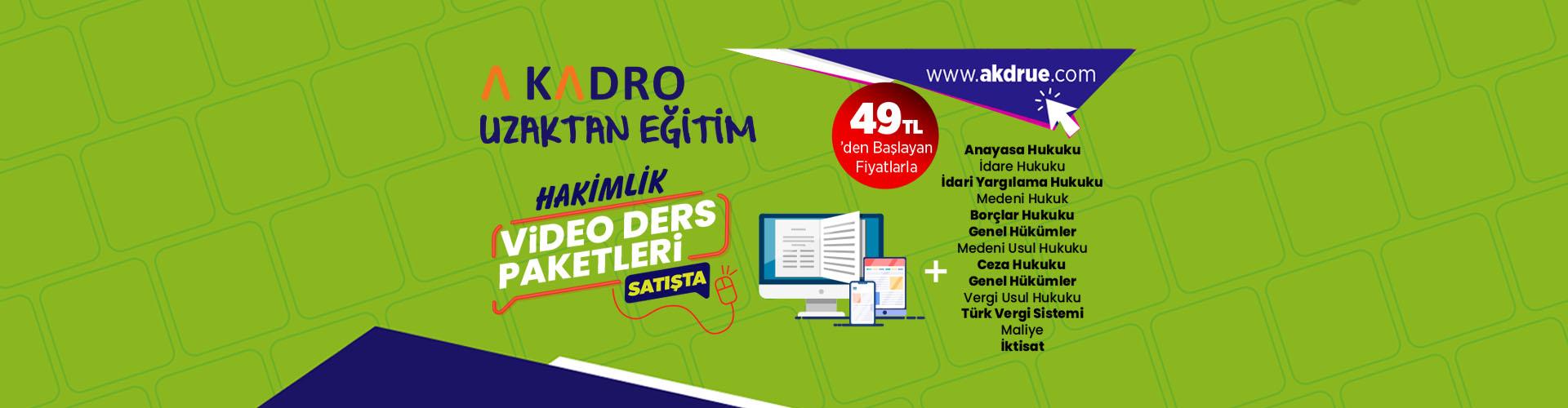 HAKİMLİK VİDEO DERS egitim banner